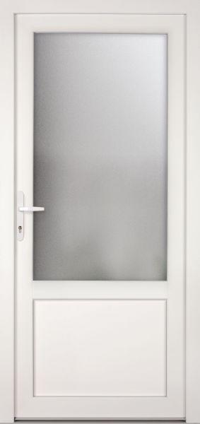 "Kunststoff-Aluminium Nebeneingangstür ""CELINE-M"" 74mm"