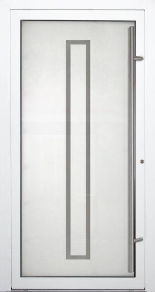 """Aluminium Glas Haustür """"KYLL"""" 90mm"""
