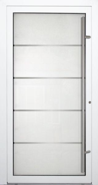 """Aluminium Glas Haustür """"RUHR"""" 90mm"""
