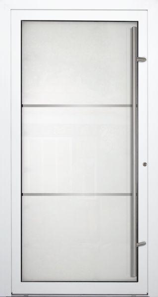 """Aluminium Glas Haustür """"LESUM"""" 90mm"""