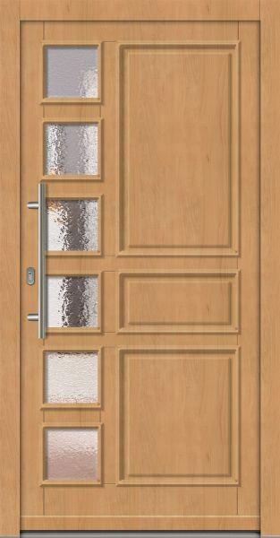 "Standardmaß Holz Haustür ""BERKEL"" 66mm"