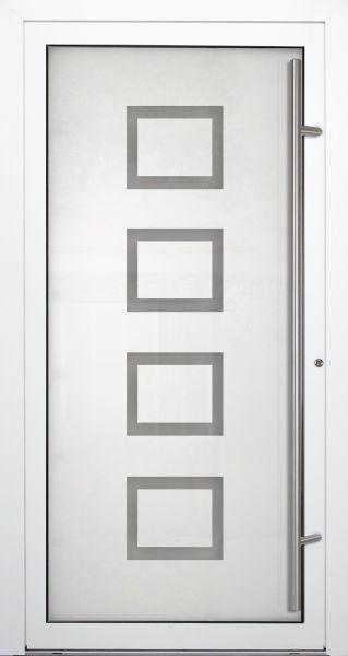 """Aluminium Glas Haustür """"ILM"""" 90mm"""