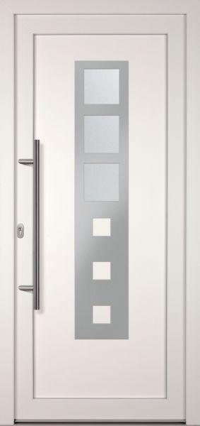 "Kunststoff-Aluminium Haustür ""OLIVIANE"" 74mm"